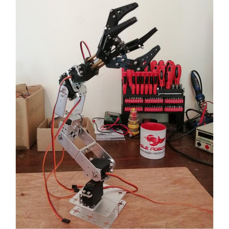 Bras robot Arduino custom