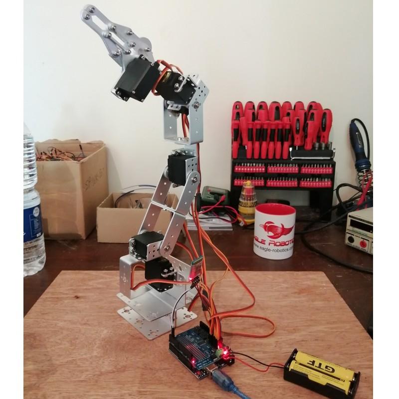 Bras robot arduino i2c