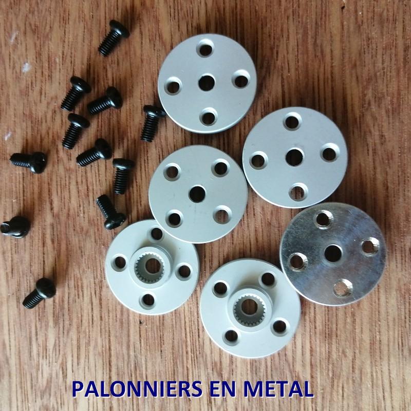 Palonniers en metal