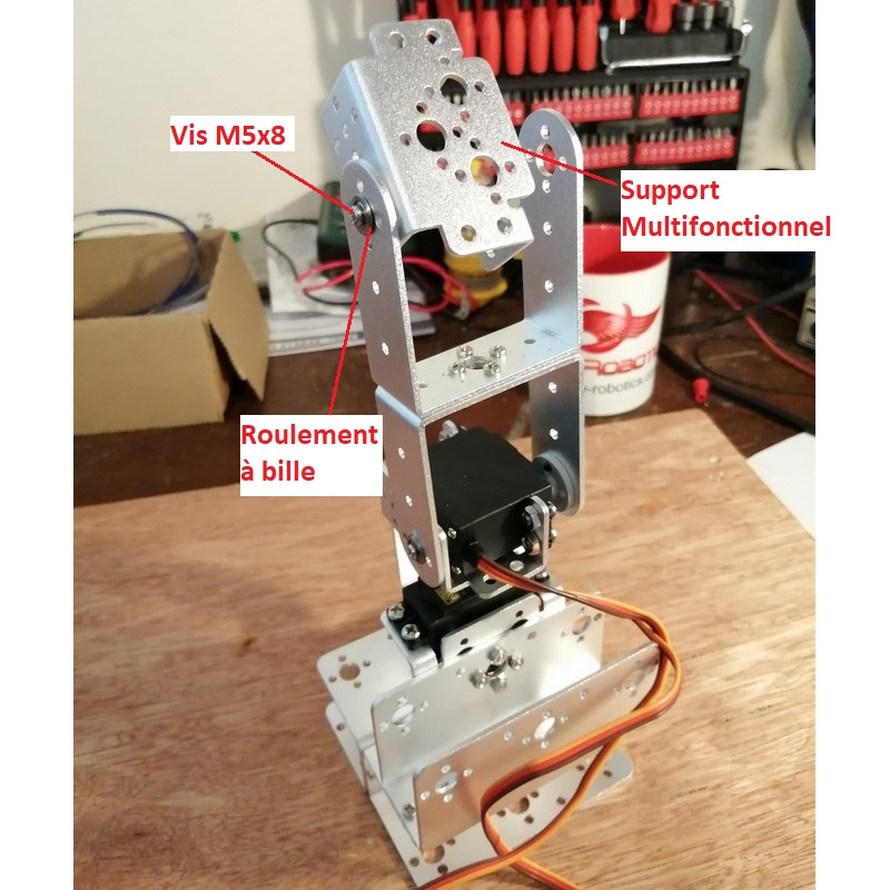 Phase11-3 Montage Bras robot Arduino