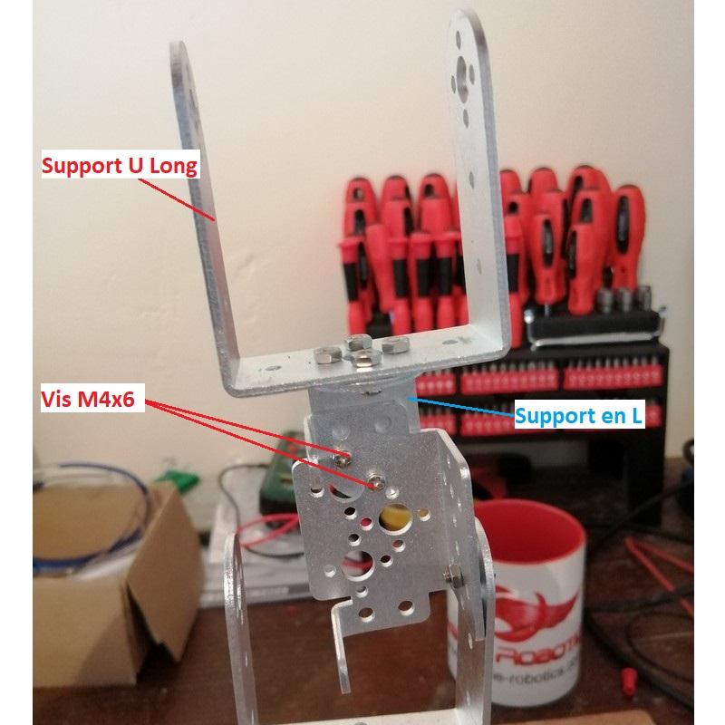 Phase13-1 Montage Bras robot Arduino