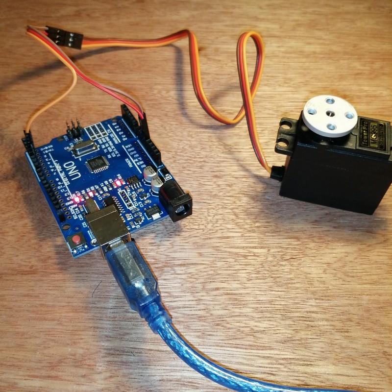 Phase14-1 Montage Bras robot Arduino