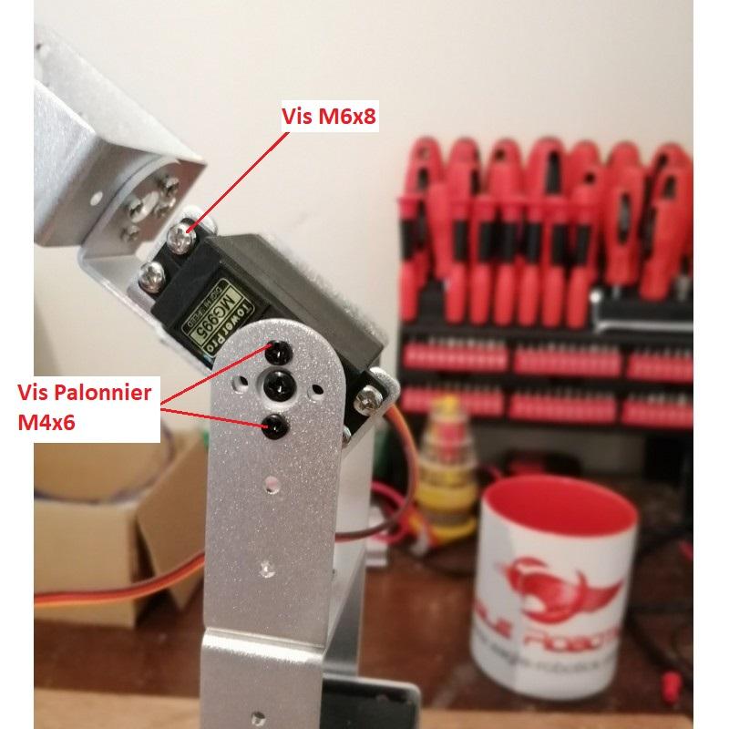 Phase14-2 Montage Bras robot Arduino