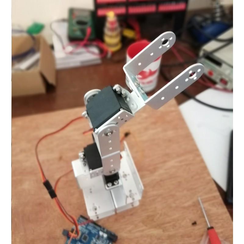 Phase14-3 Montage Bras robot Arduino