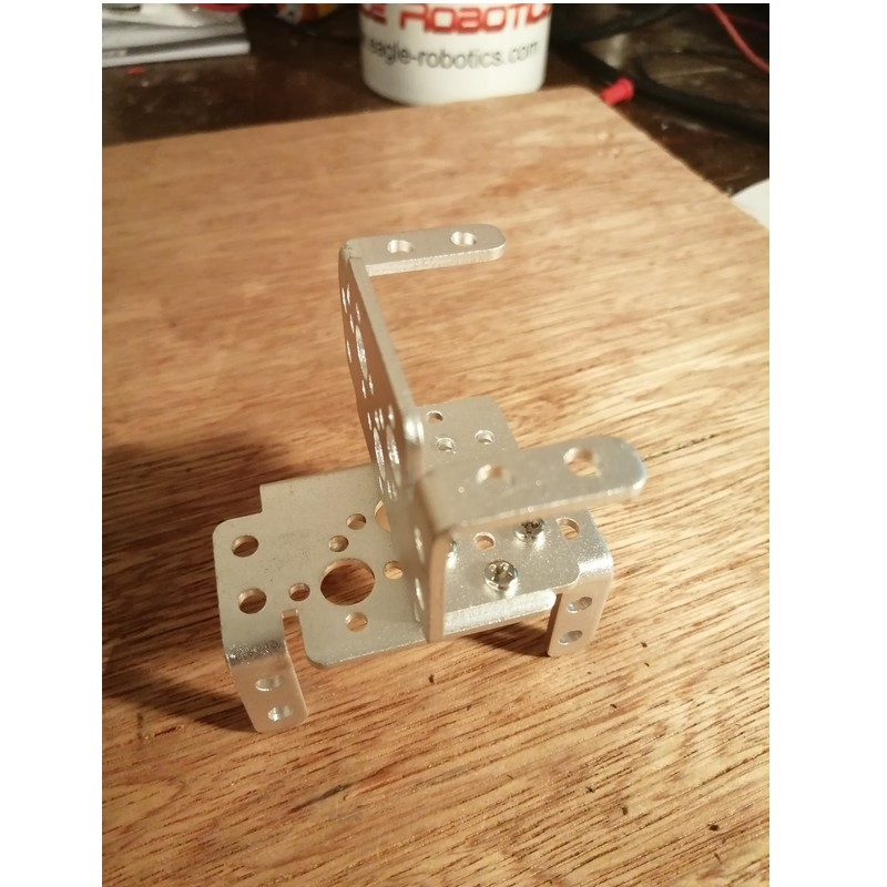 Phase15-2 Montage Bras Robot Arduino