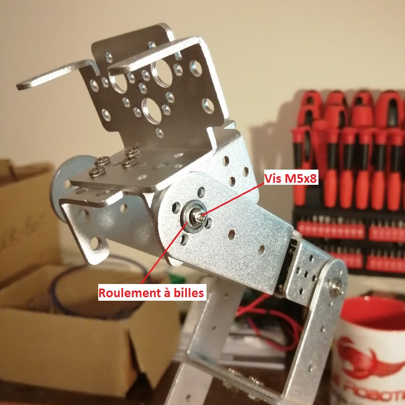 Phase16-3 Montage Bras robot Arduino