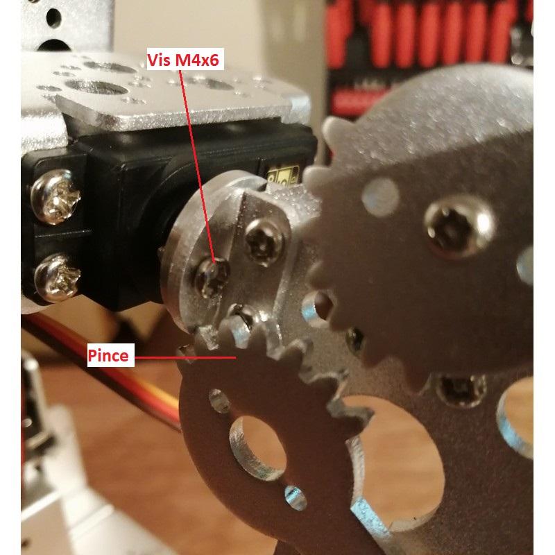 Phase18-2 Montage Bras robot Arduino