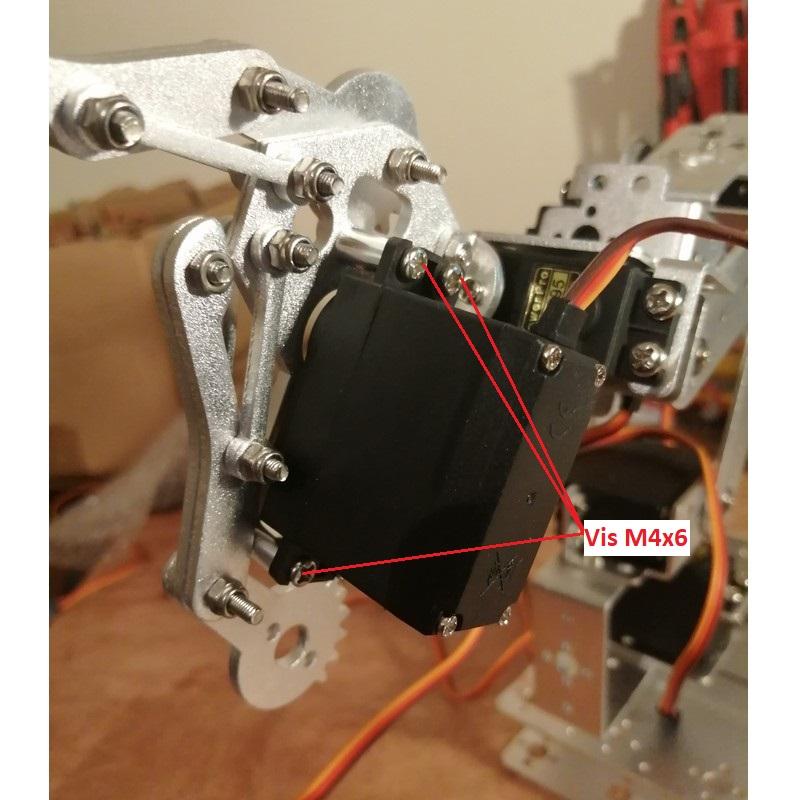 Phase19-1 Montage Bras robot Arduino