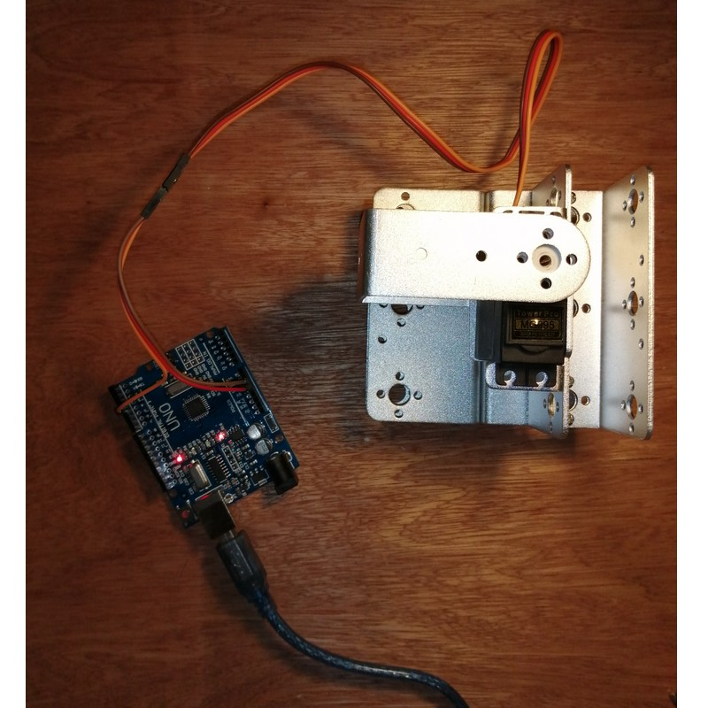 Phase6-3 Montage Bras robot arduino