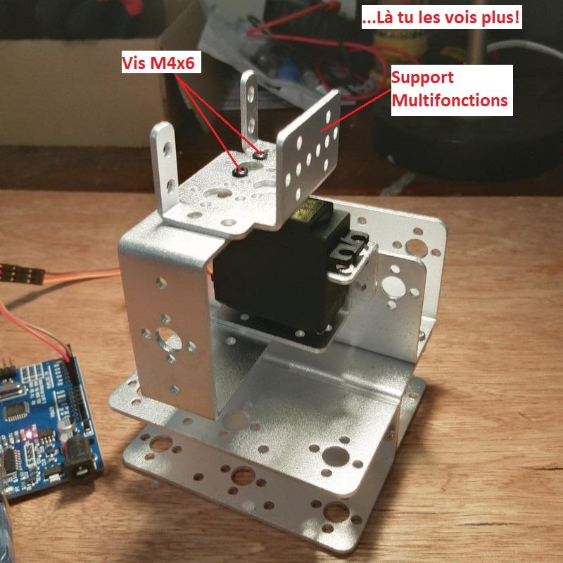 Phase7-2 Montage du bras robot Arduino