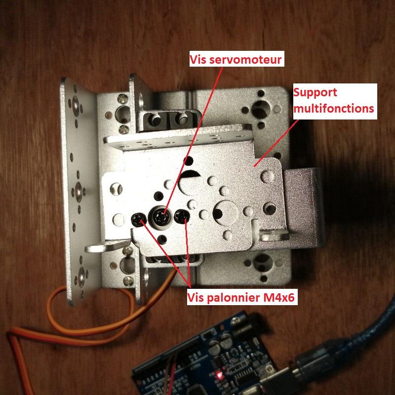 Phase7-4 Montage du bras robot Arduino