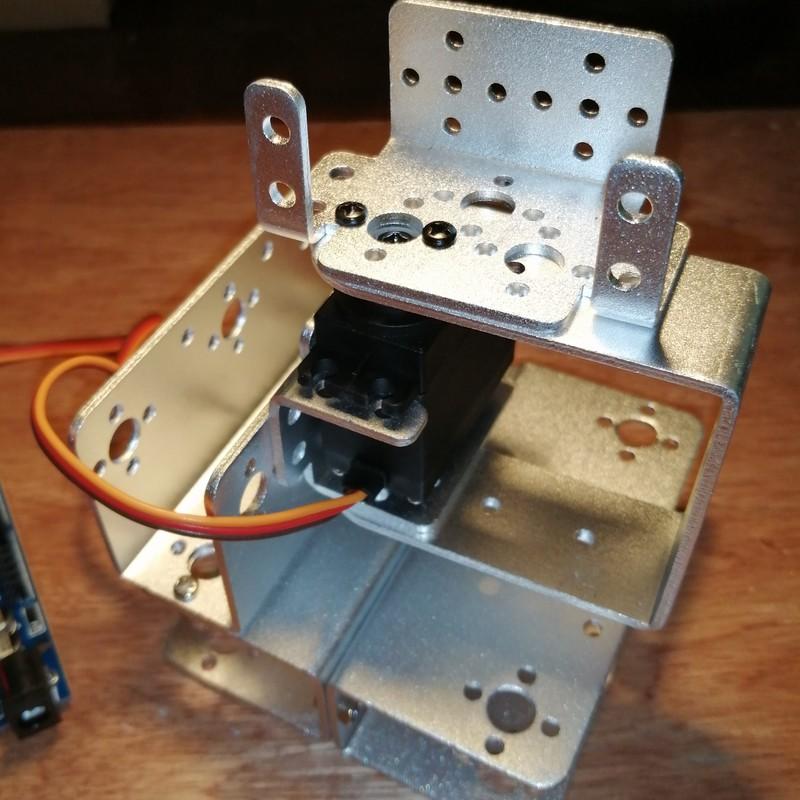 Phase7-5 Montage du bras robot Arduino