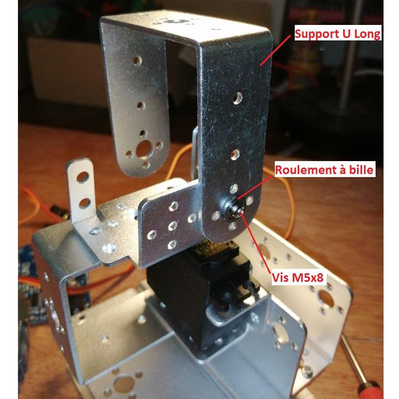 Phase8-1 Montage Bras robot Arduino