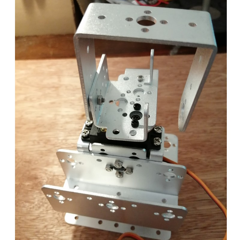 Phase8-4 Montage Bras robot Arduino