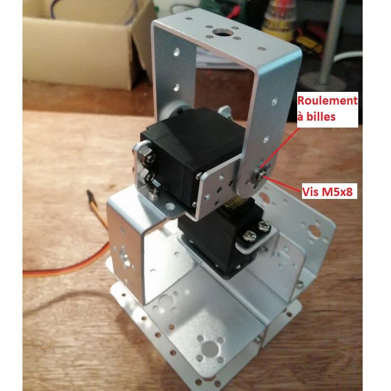 Phase9-3 Montage Bras robot Arduino