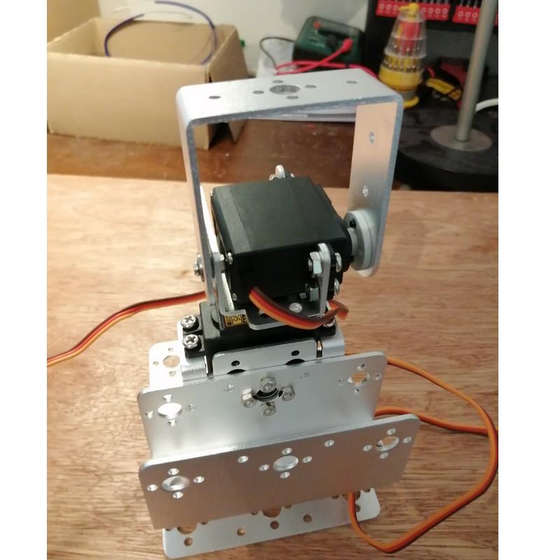 Phase9-4 Montage Bras robot Arduino