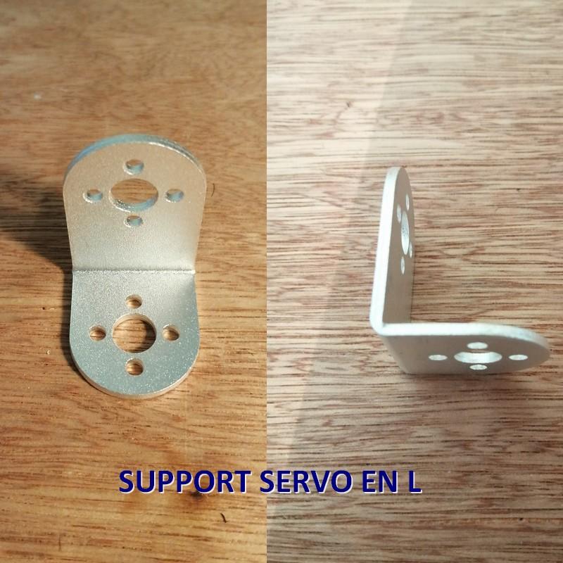 Support servo en L