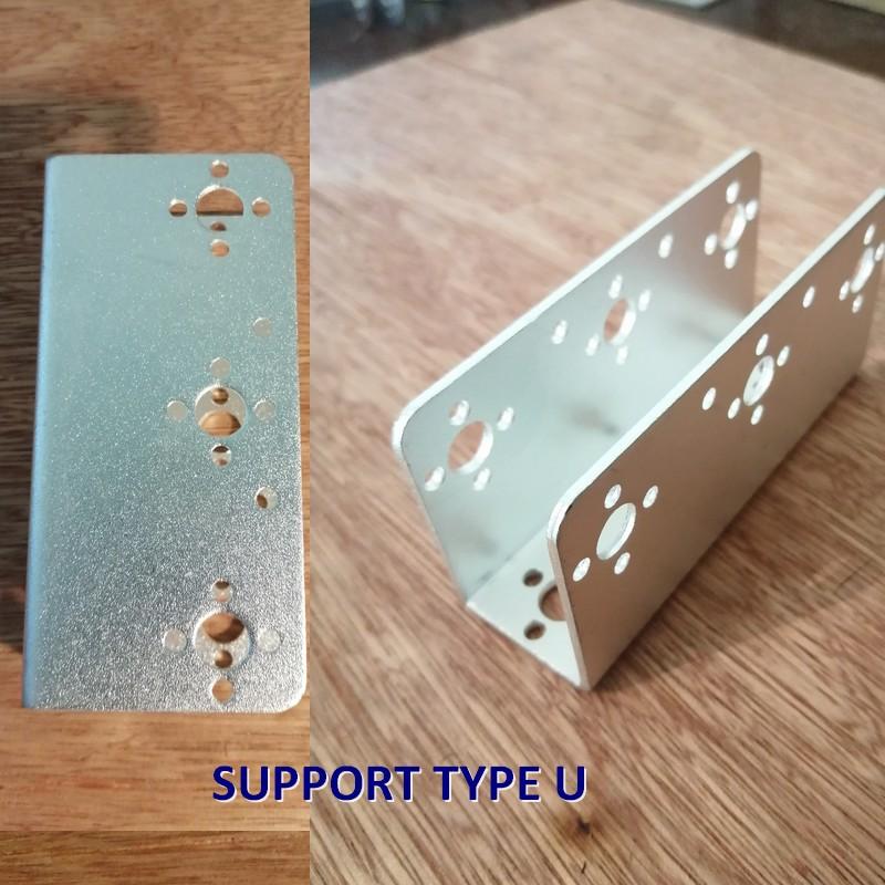 Supports servo type U